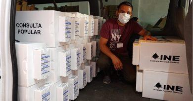 Afina INE Zacatecas últimos detalles de preparación de la consulta popular
