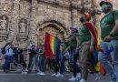 Por sus derechos marchan en Zacatecas integrantes de la comunidad LGBTTTIQ+