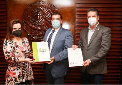 Recibe Poder Legislativo el quinto informe de actividades del gobierno de Zacatecas