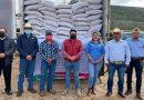Productores agrícolas de Sombrerete reciben semilla certificada de cebada