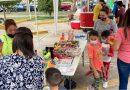 Instalan corredor gastronómico en inmediaciones de gimnasio municipal en Río Grande
