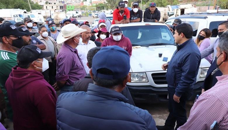 Trabajadores de limpieza tendrán certeza laboral: Jorge Miranda